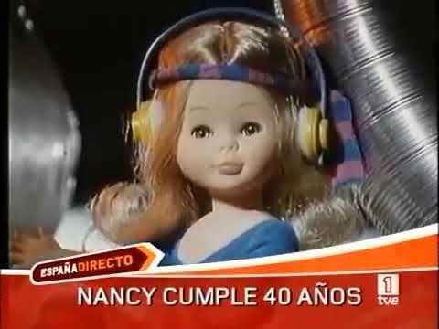 MUÑECAS FAMOSA - Nancy, anuncio televisión años 80
