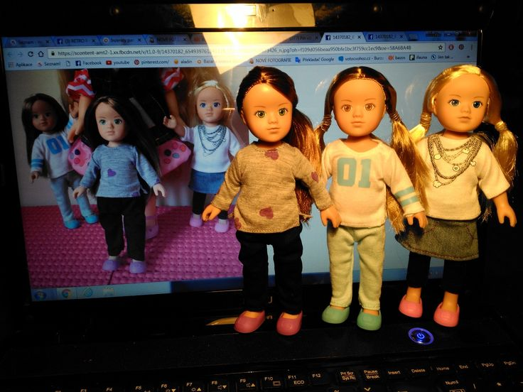 My little dolls ... Pedigree Tesco Stores mini Sindy, Laura & Kate ...♥♥♥