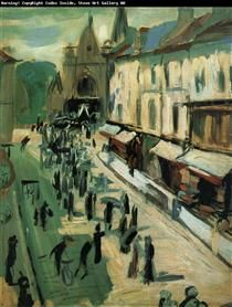 Funeral - Andre Derain
