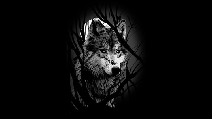 Dark Wolf is a T Shirt designed by artofkaan to illustrate your life and is available at Design By Humans