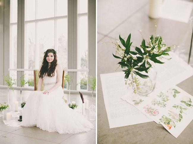 28 best Botanical Greenery Inspired Wedding images on Pinterest