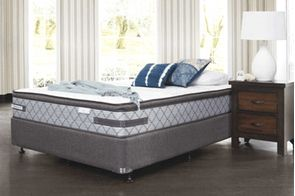 Vision Firm Queen Bed by Sealy Posturepedic