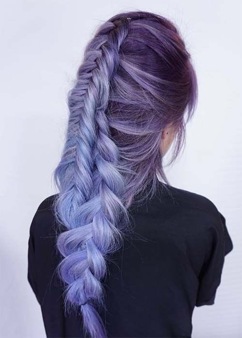 Lovely Purple & Lavender Hair Colors in Balayage and Ombre                                                                                                                                                                                 More