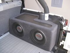 jeep wrangler subwoofer box plans - Google Search