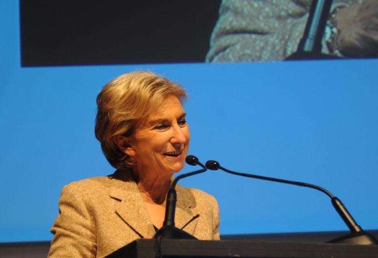 Marie-Thérèse Geoffroy, Directrice du conseil d'administration de l'ANLCI. Copyright photographique : ANLCI