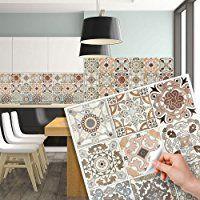 Les Meilleures Images Du Tableau Credence Sur Pinterest - Stickers carrelage cuisine 15x15 pour idees de deco de cuisine