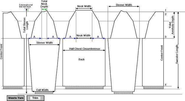Super Easy Seamless Knit Raglan Sweater Pattern