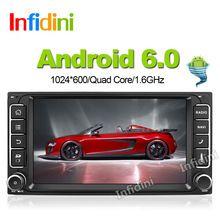 Android 4.4 quad core android carro dvd player para Toyota Hilux VIOS velho Camry Prado RAV4 Prado 2003 2004 2005 2006 2007 2008 dvd
