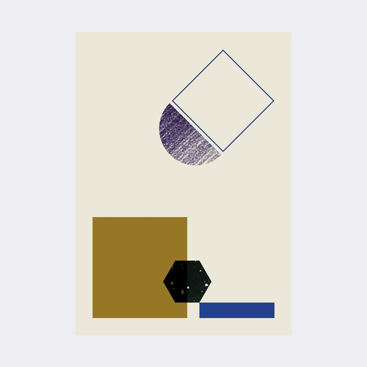 ferm LIVING webshop - Geometry Poster