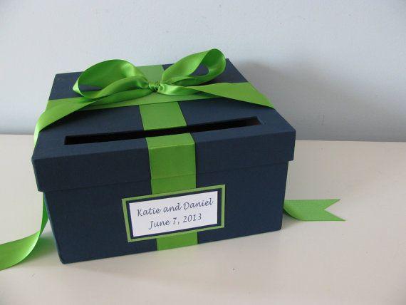 Wedding Card Box Bridal Shower Small Intimate by astylishdesign