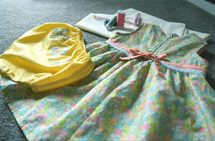 Dress and diaper cover for 12m baby