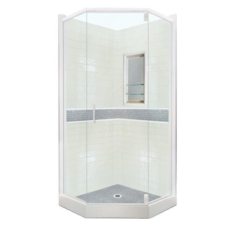 Chelsea Sistine Stone Neo Angle Shower Kit