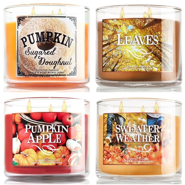 More Bath Body Works Fall 2017 Candles
