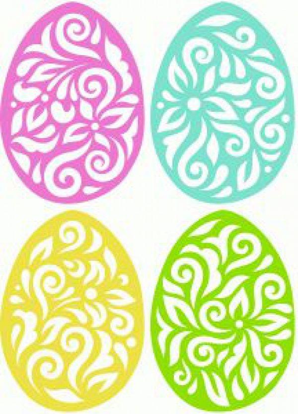 Letölthetőmintaívek, sablonok húsvétra - Színes Ötletek