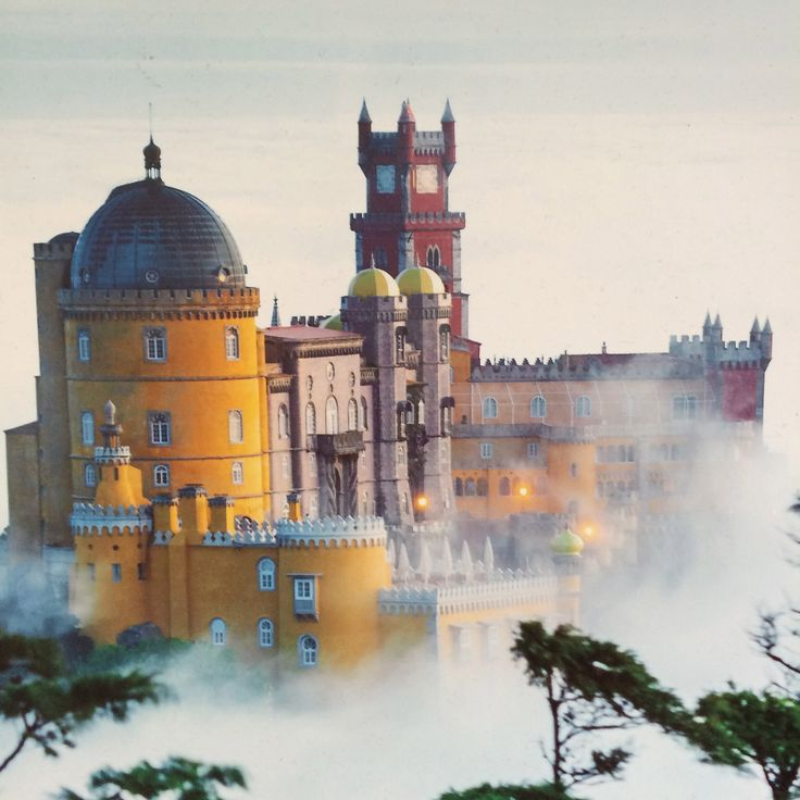 Palácio Nacional da Pena, Sintra. http://www.parquesdesintra.pt/en/parks-and-monuments/park-and-national-palace-of-pena/