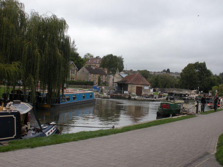 Bradford-On-Avon.  Kennet & Avon Canal