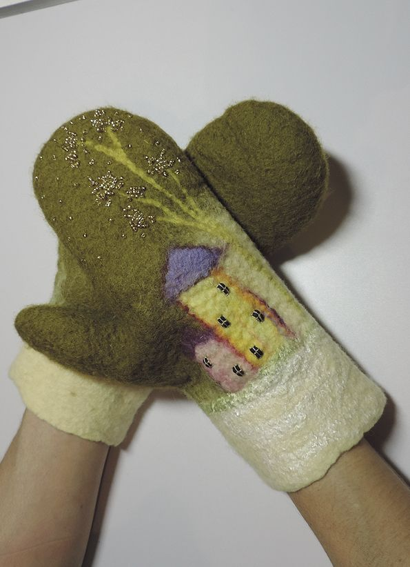 рюкзак и варежки - Ярмарка Мастеров - ручная работа, handmade