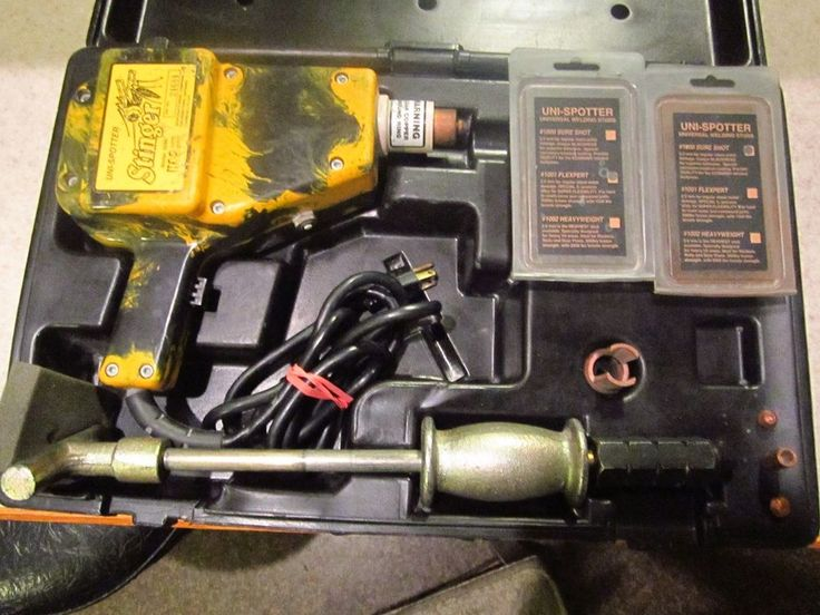 H&S Autoshot Uni-Spotter 5500 Stinger Stud Welder Kit  #HS