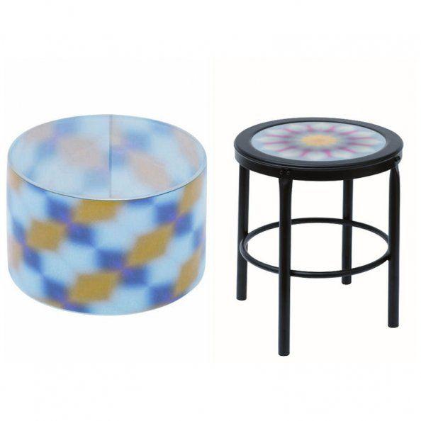 photophore et tabouret sentou pour monoprix tabourets et bancs pinterest. Black Bedroom Furniture Sets. Home Design Ideas