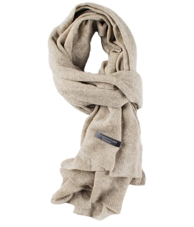 Cashmere sjaal Silver Grey