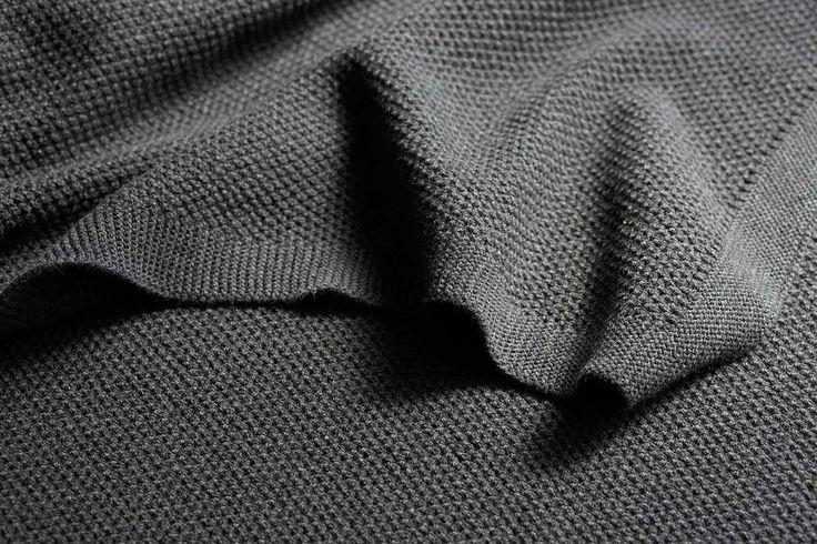 Moss Stitch Reversible Bemboka Cotton Blanket