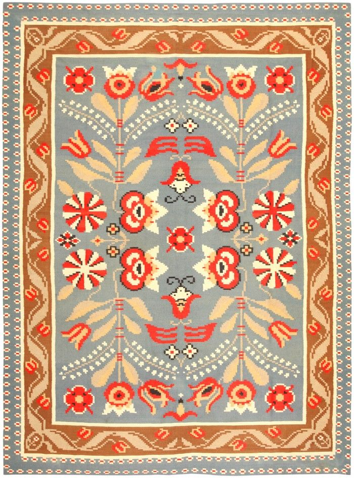Vintage Scandinavian Swedish Rug / Kilim 47153 Main Image - By Nazmiyal  http://nazmiyalantiquerugs.com/antique-rugs/rug/vintage-swedish-kilim-47153/