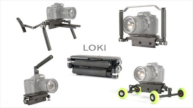 LOKI is an Ultra-Portable Camera Rig That Can Take On Many Forms - http://thedreamwithinpictures.com/blog/loki-is-an-ultra-portable-camera-rig-that-can-take-on-many-forms