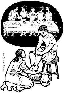 Nuestra Parroquia de Anolaima: Moniciones Jueves Santo-A