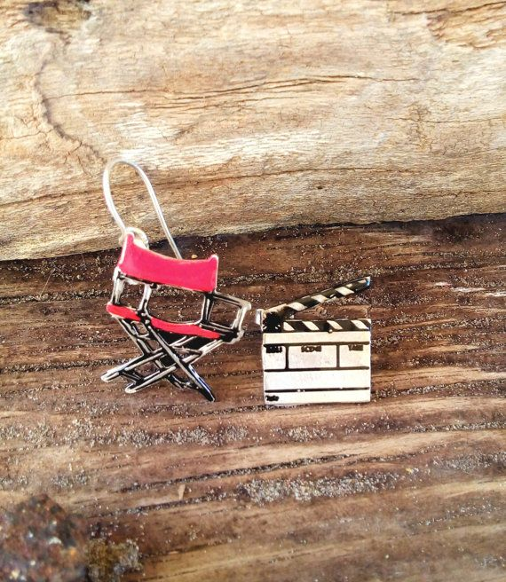 Director's chair and clapboard handmade by pepeyoyojewellery