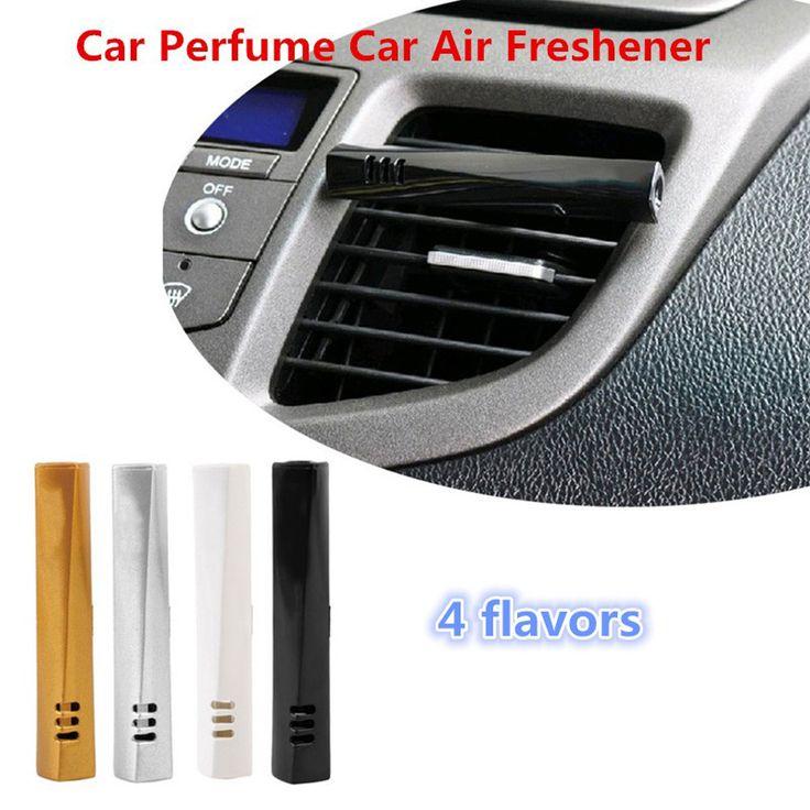 1 unids más nuevo coche Perfume ambientador de aire del coche Colorful Fragrance Perfume de lujo del coche acondicionado Clip de ventilación