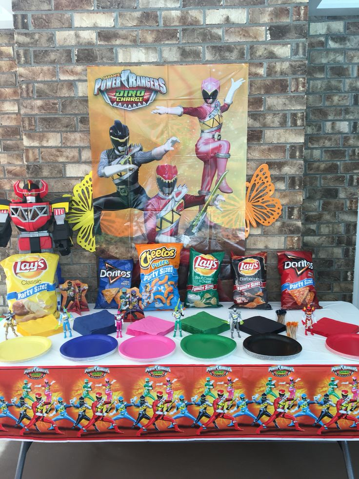 Power Rangers Dino Charge Birthday