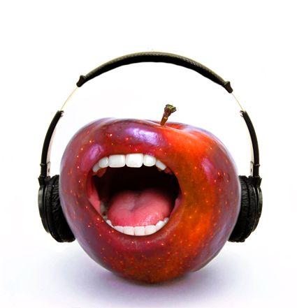 Singing Apple - Photo Manipulation - Photoshop Tutorials - CSSCreme.com