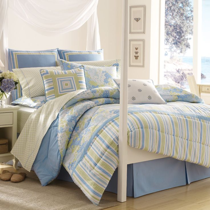 Escape To A Bed And Breakfast In Your Own Bedroom. Somerset Bedding By Laura  Ashley Infuses The Room With A Bright Color Palette And Comforting Design.