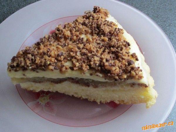 Neskutečně dobrý koláč sypaný margotkou  obrácený