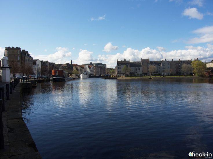 Due passi a #Leith, il quartiere portuale di #Edimburgo, #scozia