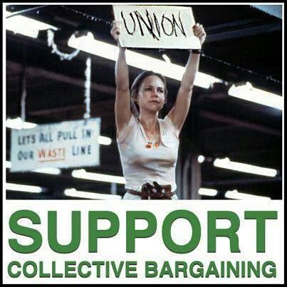 unions and collective bargaining discrimination in the Information about retaliation for union activity/collective action  for union activity/collective action  procedure of collective bargaining lead to.