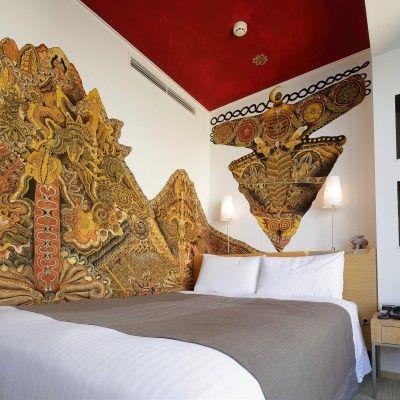 Artist Room Single Jomon by artist Daisuke Kagawa    Park Hotel Tokyo