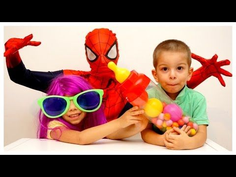 Learn Colors for Kids Finger Family Song Nursery Rhymes Superhero Xylophone Body Paint - YouTube