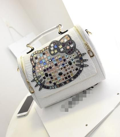 2016 Luxury leather hello kitty handbags