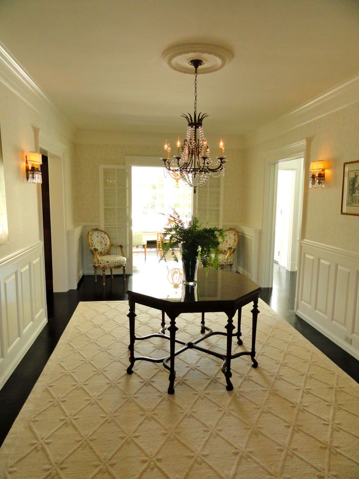 Foyer Plaster Ceiling : Cook architectural design studio│ this traditional foyer