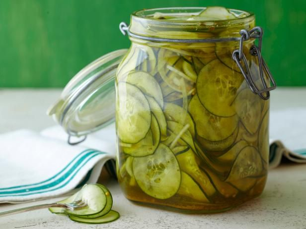 Recipe of the Day: Alton's Homemade Pickles          Alton deems these easy-to-make beauties Kinda Sorta Sours, as they're made with a duo of vinegars, plus mustard and celery seeds.Food Network, Alton Brown, Pickles Recipe, Brown Kinda, Sour Pickles, Kinda Sorta, Favorite Recipe, Sour Recipe, Sorta Sour