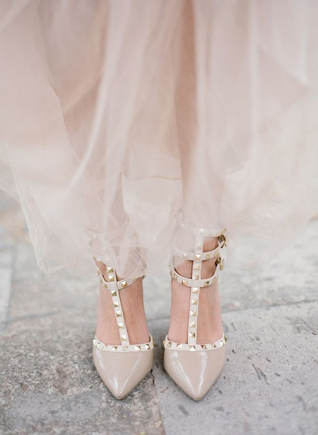 Valentino Rockstuds - the most wanted wedding shoes for 2017 brides