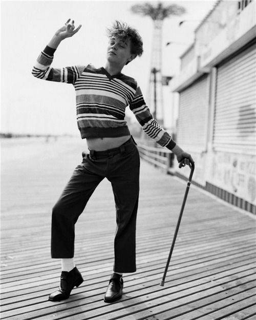 Young Leonardo DiCaprio (by Marc Webb)