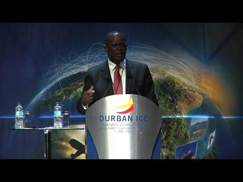 Phil Molefe, our business development collaborator, speaking at the African Renaissance Conference 2014.