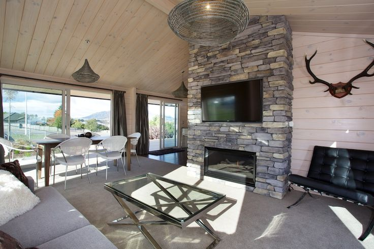 Great open plan living in a small home. Lockwood Taupo show home