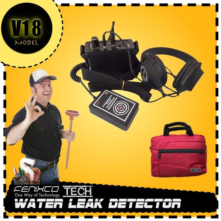 V18 su kaçak tespit cihazı ile sızıntı yapan su borularını noktasal olarak kolayca tespit edin ev içindeki patlamış su borularını dinleme istanbul