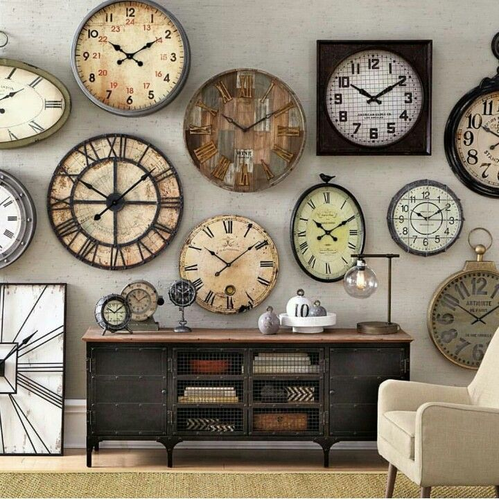 The 25 Best Wall Of Clocks Ideas On Pinterest Wall