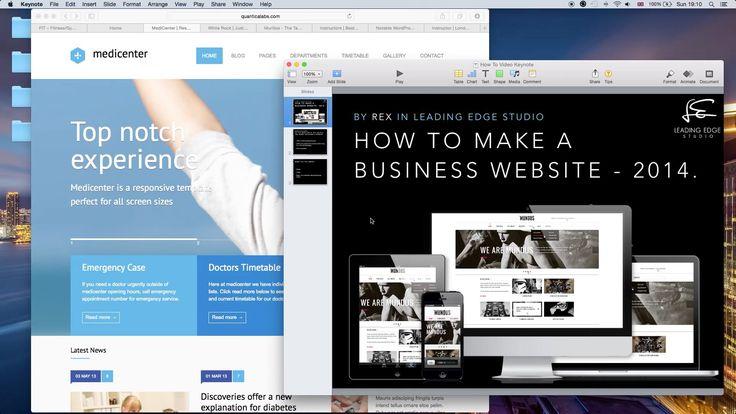 https://www.youtube.com/watch?v=FSWut_lGMzU   How To Make A Website With Wordpress in 13 Minutes! Unbeatable