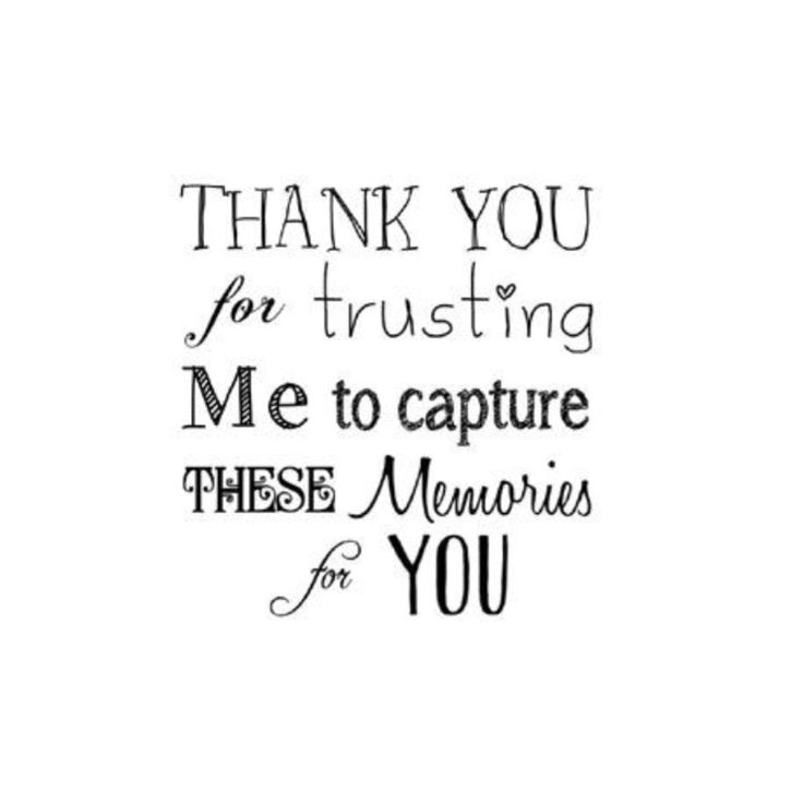 Sometimes we're the ones that have to say #thankyou! #memories #trust #camera #photo