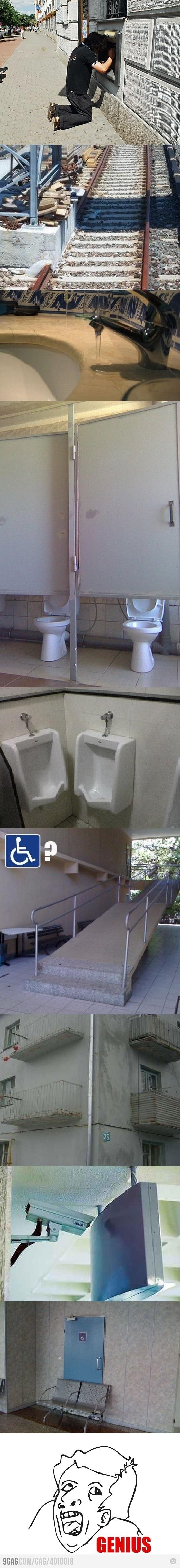 People are geniuses!